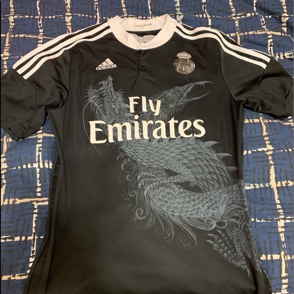 save off e6741 2ca21 Real Madrid y3 dragon jersey medium